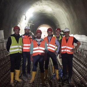 Exkursion Tunnel Cannstatt S21