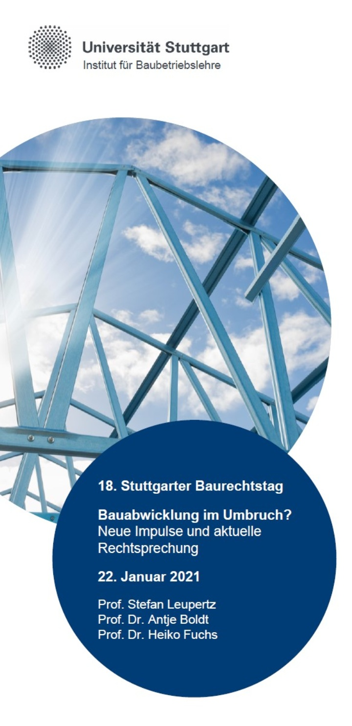 18. Stuttgarter Baurechtstag