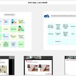 Auszug aus dem virtuellen Whiteboard der Veranstaltung